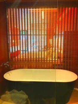 部屋風呂写真