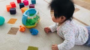 トイサブ 赤ちゃんの反応