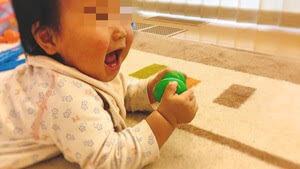 toysub-キッズパーカッション エッグシェーカーに大喜び