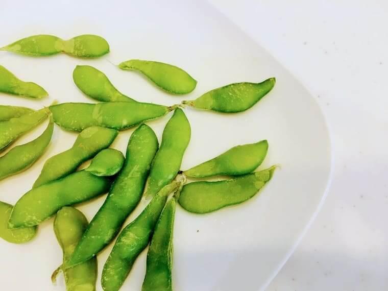 コープの幼児食 冷凍枝豆
