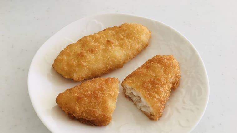 コープの幼児食 白身魚のフライ